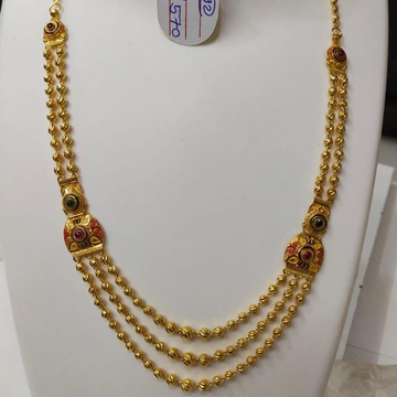 916 gold mag mala by