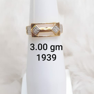 916 daily wear Cz gent's ring by