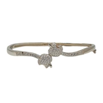 925 sterling silver apple shaped fancy bracelet mga - brs1742