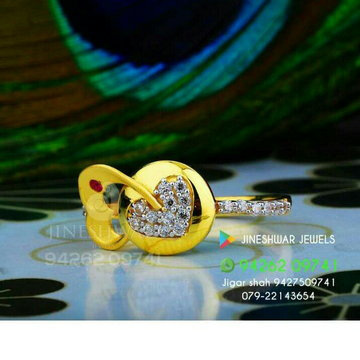 916 Attractive Fancy Cz Ladies Ring LRG -0279