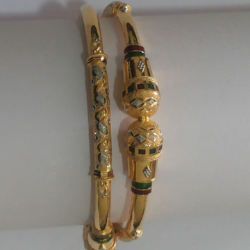 916 Exclusive Meenakari Bangle SG-82