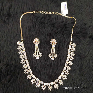 Beautiful Diamond Necklace#917