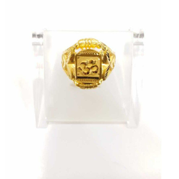 760 gold jalpari om gents rings RJ-J004