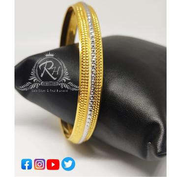 22 carat gold fancy gents kada Rh-KD068
