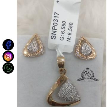 22 carat gold fancy earrings set RH-ER678