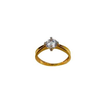22K Gold Solitaire Diamond Ring MGA - LRG1180