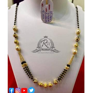 22 carat gold classical ladies mangalsutra RH-MN569