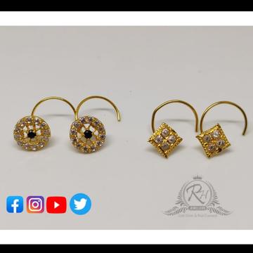 18 carat gold nose pins RH-NS211