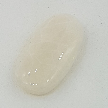 7.60ct oval white opal