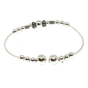 925 Sterling Silver Ladies Kada Bracelet MGA - BRS1639