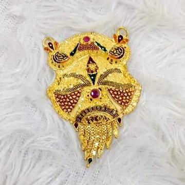 22 carat gold ladies mangalsutra pendal  RH-MS318