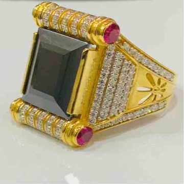 22kt 916 exclusive gents royal ring by Prakash Jewellers