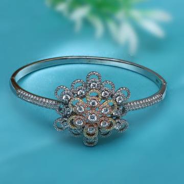 999 Silver Flower Designer Bracelet For Women PJ-B002