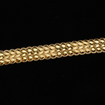 916 Gold Gents Lucky Bracelet ML-B005