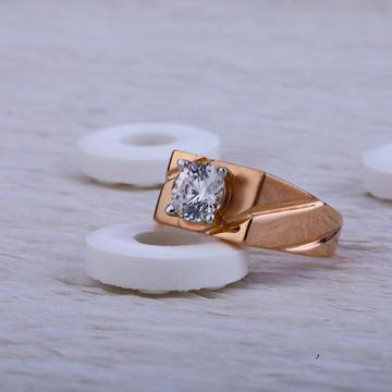 750 Rose Gold Ring RMR25