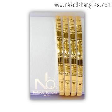 916 Gold Khilla Bangles NB - 1388