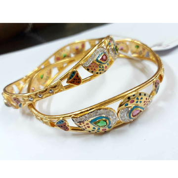 22KT Yellow Gold Ladies Attractive Bangle