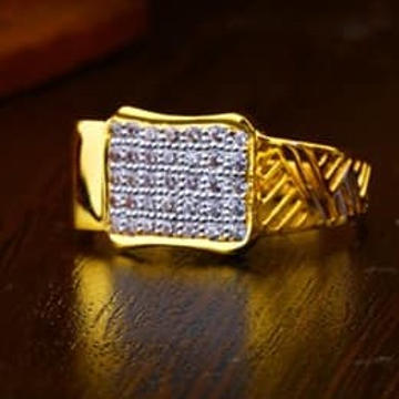 916 Gold Gents Ring 0012