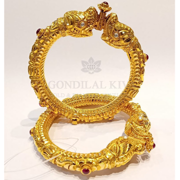 20kt gold bangle gbg41 by