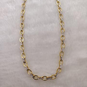 916 Gold Fancy Gent's Italian chain