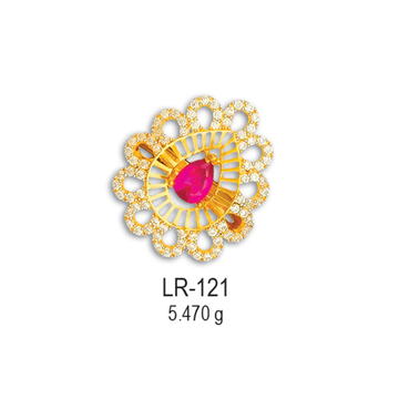 22KT-CZ-Gold-Attractive-Ladies-Ring-LR-121