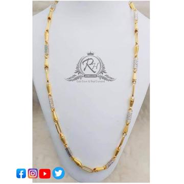 22 carat gold fancy gents chain RH-CH492