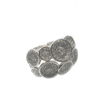 925 Sterling Silver Round Shaped Ring MGA - LRS026...