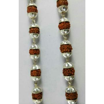 925 Silver Fancy Rudraksh Mala