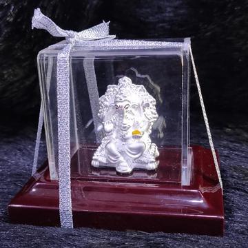 92.5 sterling silver lord ganesha religious idol