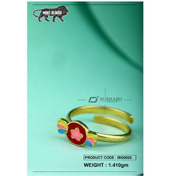 18 carat gold Kids ring ibg0025 by