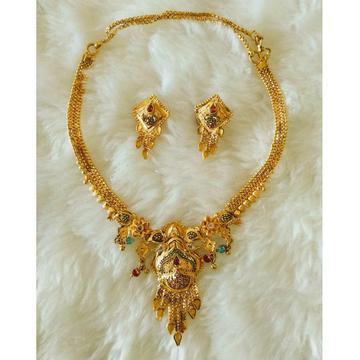 Gold necklace set butii Fantastic Dijain by