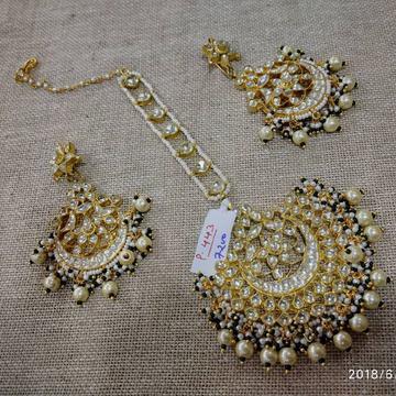 Kundan Tikka And Earrings 003