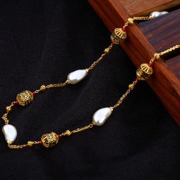 916 Gold Antique Women's Chain Mala AC206