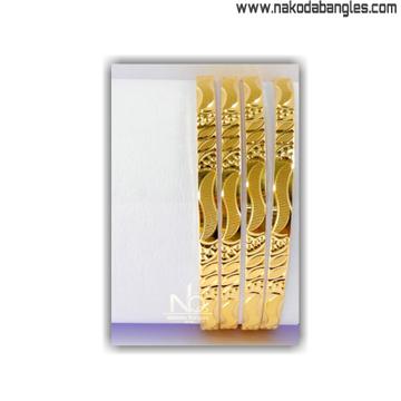 916 Gold Khilla Bangles NB - 1393