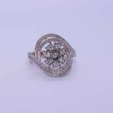 18K gold diamond ring agj-lr-307