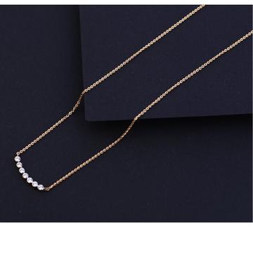 18KT Rose Gold Delicate Necklace Tanmaniya RTM215