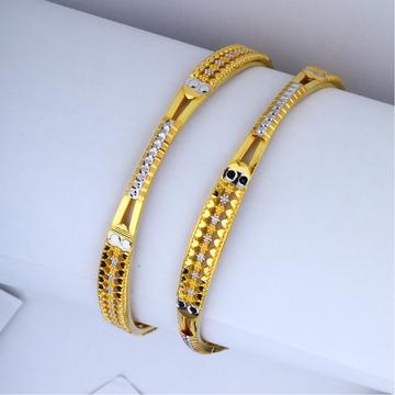 916 Gold Designer Copper Kadli Bangle