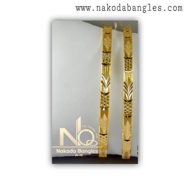 916 Gold Khilla Bangles NB - 1387