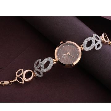 18KT Rose Gold CZ Hallmark Exclusive Watch RLW302
