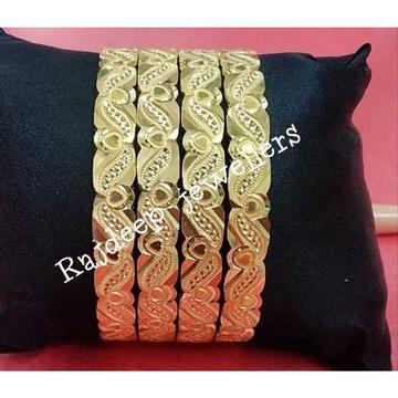 916 Gold Fancy Bangles
