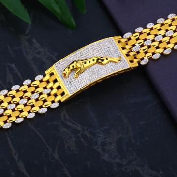Men's Exclusive 916 Jaguar  Casting Bracelet- MCB35