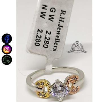 92.5 silver classical rings RH-LR789