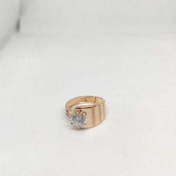 18k men's rose gold rings NO-31319