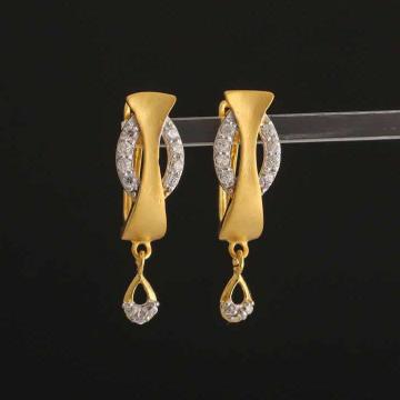 22k Gold  Diamond Butii by