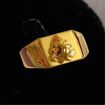 High Polish Gents Ring by Kanishq Jewels