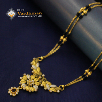 22ct(916) antique mangalsutra by