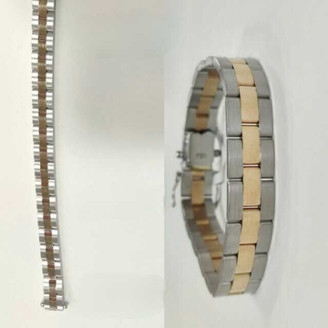18k Gents Fancy Rose Gold Lucky G-10252