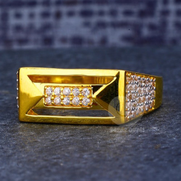 22ct fancy gents ring