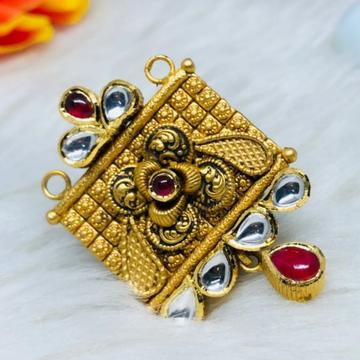 916 Gold Jadtar Mangalsutra Pendants msp-0013