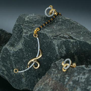 mangalsutra pendant set by